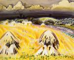 Charles Burchfield - Wheatfields