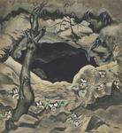 Charles Burchfield - White Violets and Coal Mine