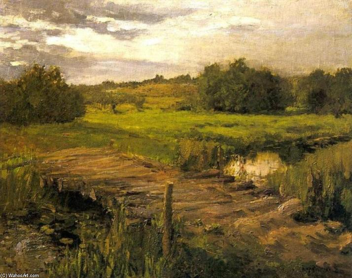Brook by Constantin Alexeevich Korovin (1861-1939, Russia) | WahooArt.com