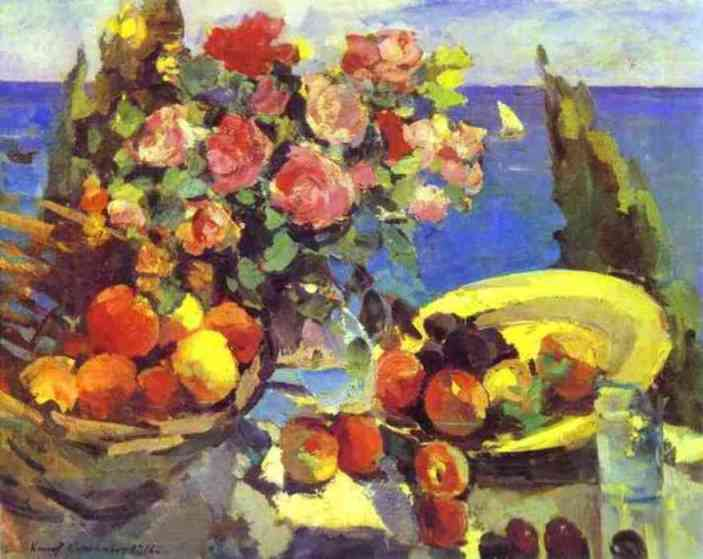 Still Life 1 by Constantin Alexeevich Korovin (1861-1939, Russia) | Art Reproduction | WahooArt.com