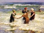 Edward Henry Potthast - A Happy Group