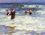Edward Henry Potthast - In the Surf 2