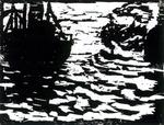Emil Nolde - Large boats and small steam