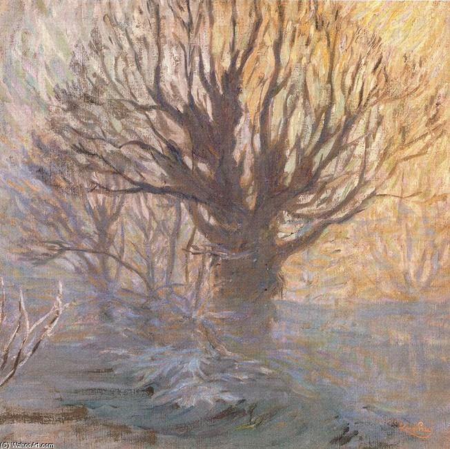 'The tree' by Frantisek Kupka (1871-1957, Czech Republic)