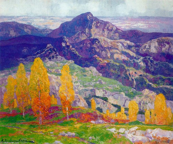 View of Tardor by Hermen Anglada Camarasa (1871-1959, Spain) | Art Reproduction | WahooArt.com