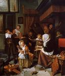 Jan Steen - The Feast of Saint Nicholas