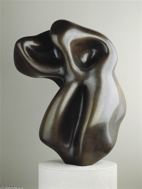 Torso of a Giant by Jean (Hans) Arp | Museum Quality Reproductions | WahooArt.com