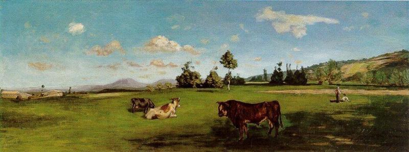 Saint-Saveur by Jean Frederic Bazille | Art Reproduction | WahooArt.com