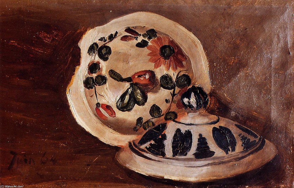 'Soup Bowl Covers' by Jean Frederic Bazille