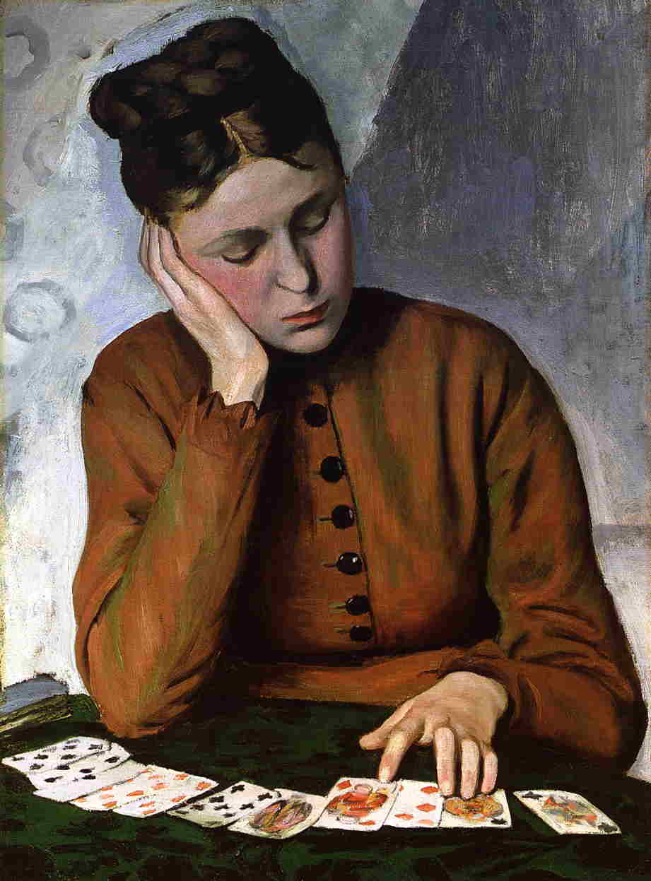 'The Fortune Teller' by Jean Frederic Bazille