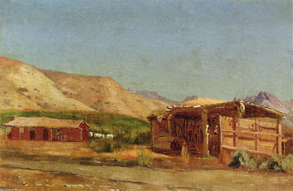 'Hamilton's Ranch, Nevada' by Jervis Mcentee (1828-1891, United States)