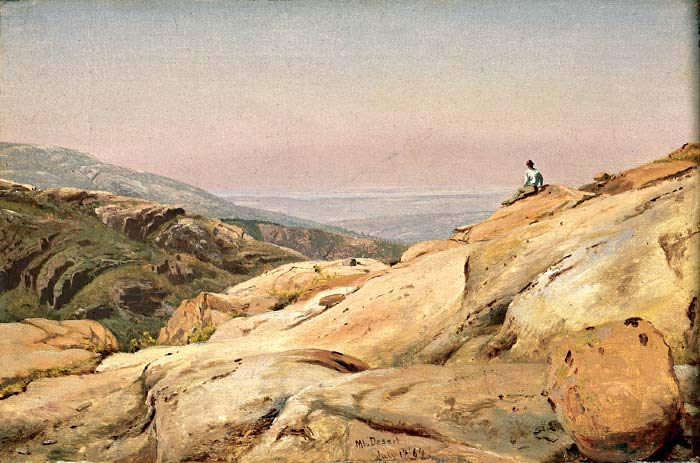 'Mount Desert Island, Maine' by Jervis Mcentee (1828-1891, United States)