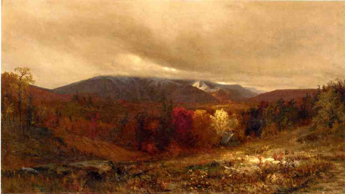 'October in the Catskills' by Jervis Mcentee (1828-1891, United States)