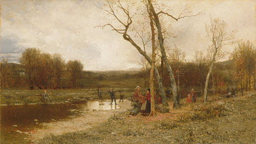 Saturday Afternoon by Jervis Mcentee (1828-1891, United States) | WahooArt.com