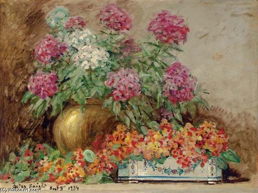 'Floral Still Life' by Louis Aston Knight