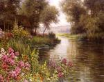 Louis Aston Knight - Flower along the Riviere