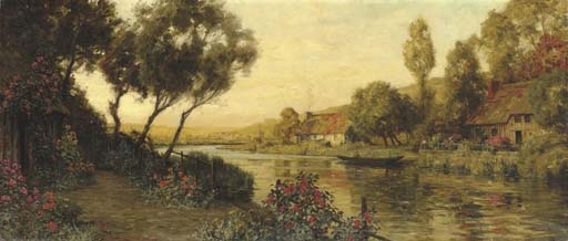 'Path Along the River' by Louis Aston Knight