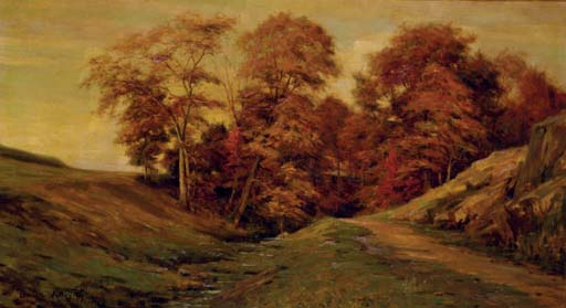 'The Thirteenth Hole at Sleepy Hollow' by Louis Aston Knight