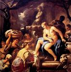 Luca Giordano - Bathsheba in the bath