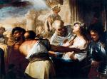 Luca Giordano - Saint Lucia led to the martyrdom