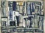 Mario Sironi - Composition gray-blue