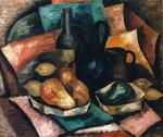 Marsden Hartley - Still Life with Bottle and Pitchers