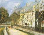 Maurice Utrillo - The white house