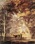 Paul Sandby - Cow­Girl in the Windsor Great Park