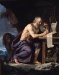 Philippe De Champaigne - Saint Jerome in the Wilderness
