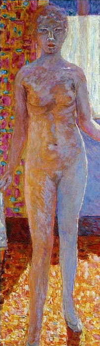 Nude by Pierre Bonnard (1867-1947, France) | Museum Art Reproductions Pierre Bonnard | WahooArt.com