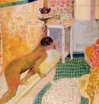 Pierre Bonnard - The exit of the bath