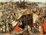 Pieter Bruegel The Younger - The Adoration of the Magi