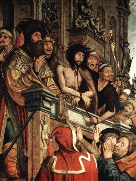 'Ecce Homo' by Quentin Massys (1466-1529, Belgium)