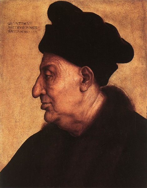 'Portrait of an Old Man' by Quentin Massys (1466-1529, Belgium)