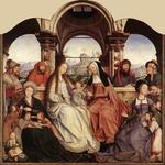 Quentin Massys - St Anne Altarpiece (central panel)