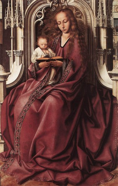 'Virgin and Child 1' by Quentin Massys (1466-1529, Belgium)