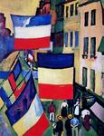 Raoul Dufy - Decked street