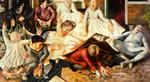 Stanley Spencer - Villagers and Saints 1