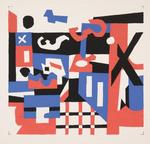 Stuart Davis - Study for a Drawing