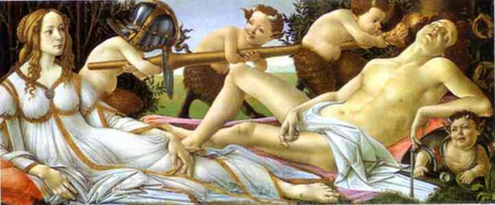 Venus and Mars, Sandro Botticelli