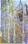 Claude Monet - The Rouen Cathedral at Noon