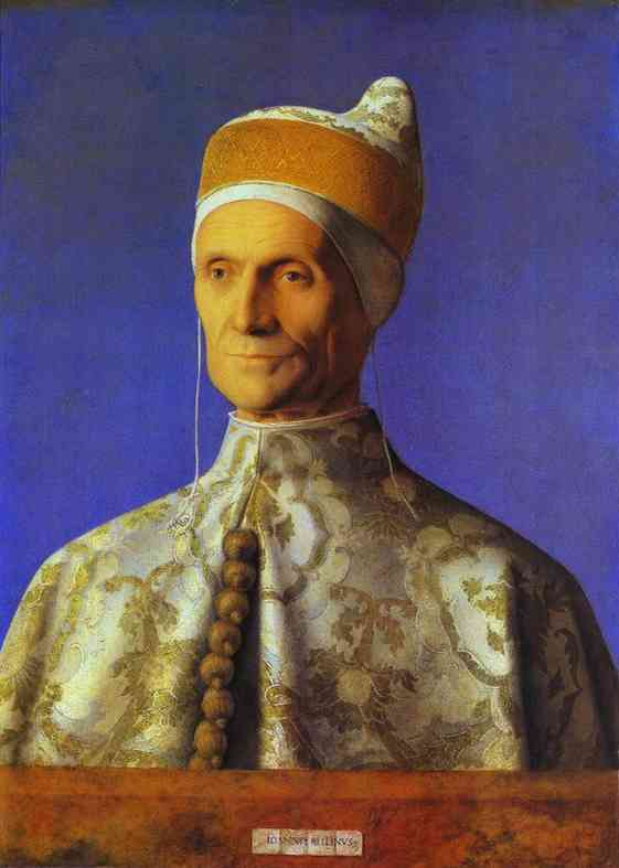 Giovanni Bellini >> Doge Leonardo Loredan  |  (Oil, artwork, reproduction, copy, painting).