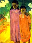 Paul Gauguin - Piti Teina. (Two Sisters)