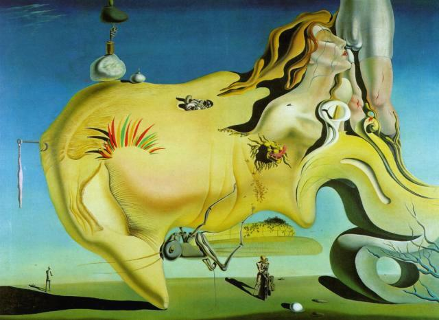 Salvador Dali - The Great Masturbator, 1929