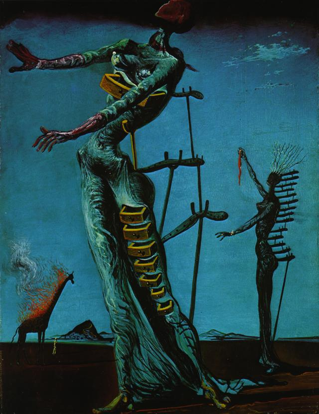 Salvador Dali - The Burning Giraffe, 1937