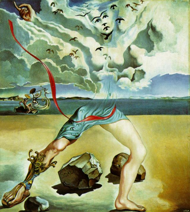 image analysis dali The persistence of memory by salvador dalí: an analysis  the use of shadows  in the picture builds a strong contrast between sources of light.