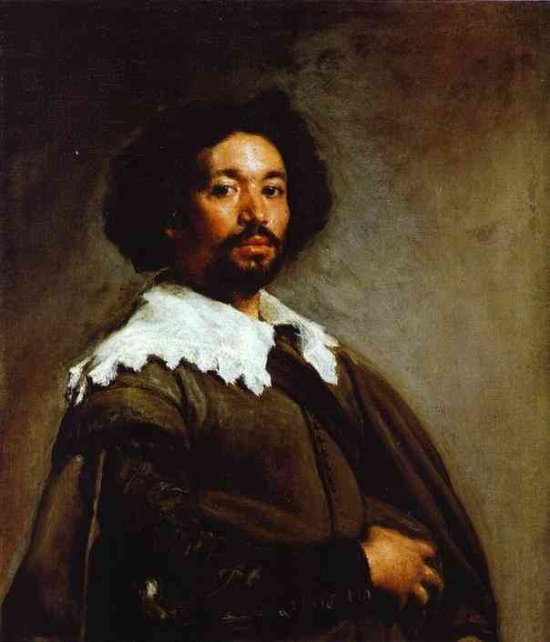 Diego Velazquez >> Juan de Pareja  |  (Oil, artwork, reproduction, copy, painting).