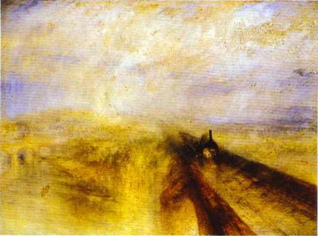 William Turner - Rain, Steam and Speed - The Great Western Railway