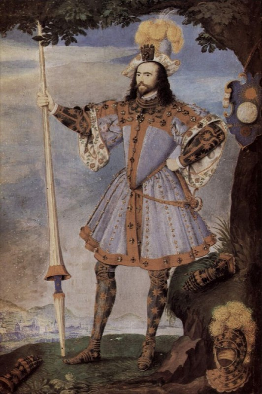 Nicholas Hilliard - George Clifford, 3rd Earl of Cumberland