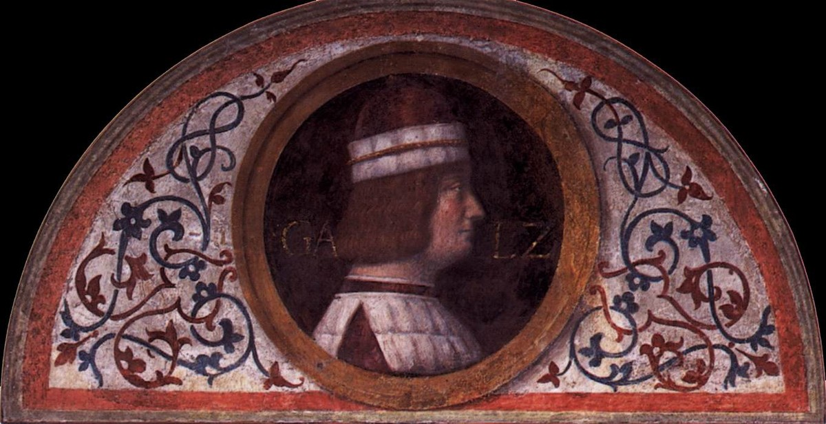 Bernardino Luini >> Portrait of Galeozzo Sforza  |  (Oil, artwork, reproduction, copy, painting).